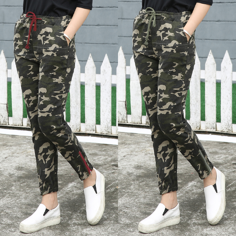 Unique Womens Ladies Army Camo Jog Pant Trackies Gym Sports Jogging Bottoms