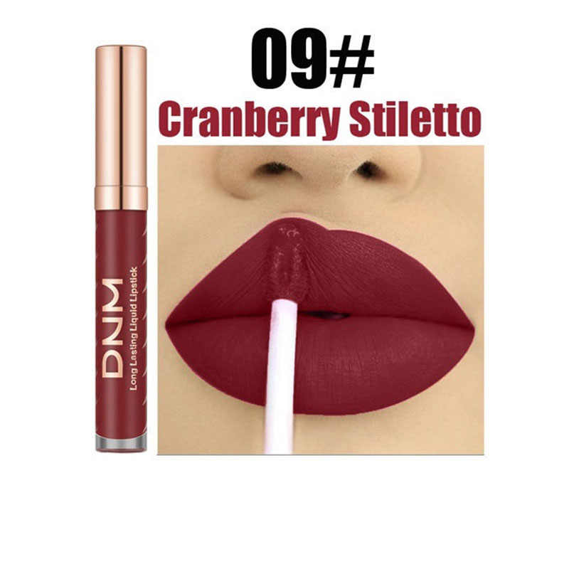12 Warna Lipstik Matte Makeup Tahan Air Merah Bibir Tahan Lama Gloss Mate Hitam Tongkat Bibir Matte Liquid Lipstik