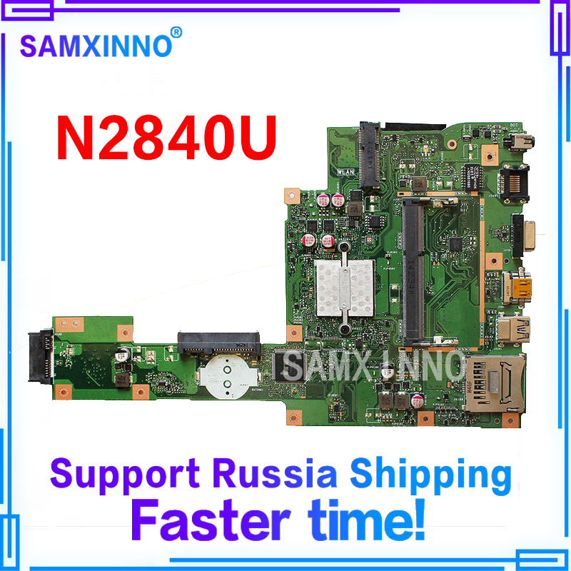 X553MA Motherboard REV2.0 N2840 cpu 4GB RAM For ASUS A553M X503M F553M laptop Motherboard X553MA Mainboard X553MA Motherboard