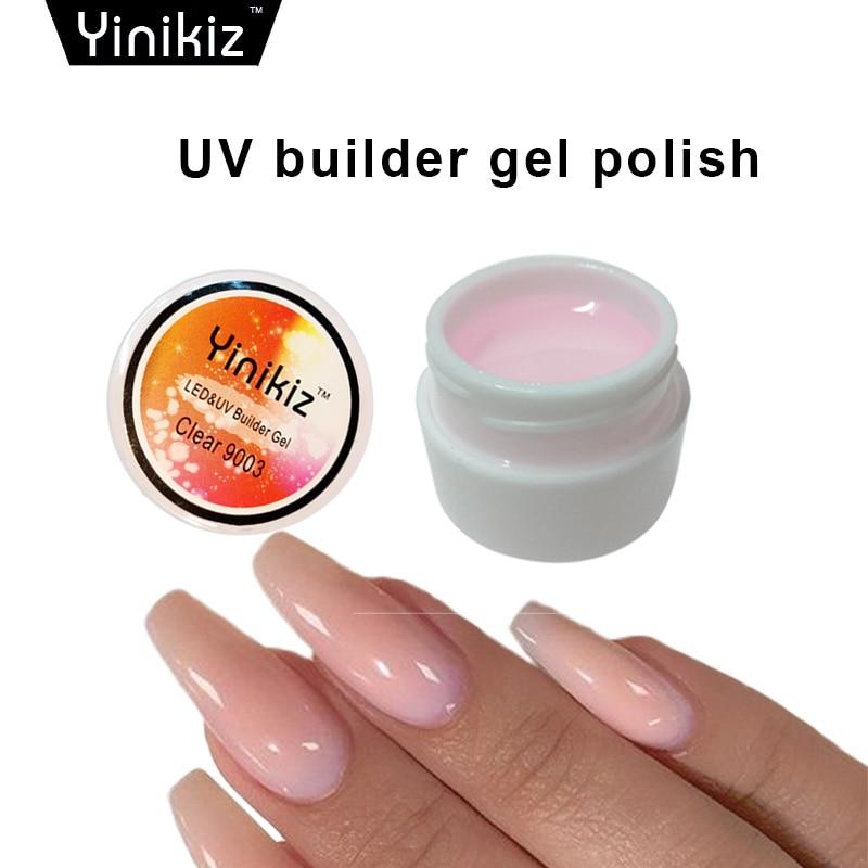 yinikiz beauty nail art pink white clear 3 color uv. Black Bedroom Furniture Sets. Home Design Ideas