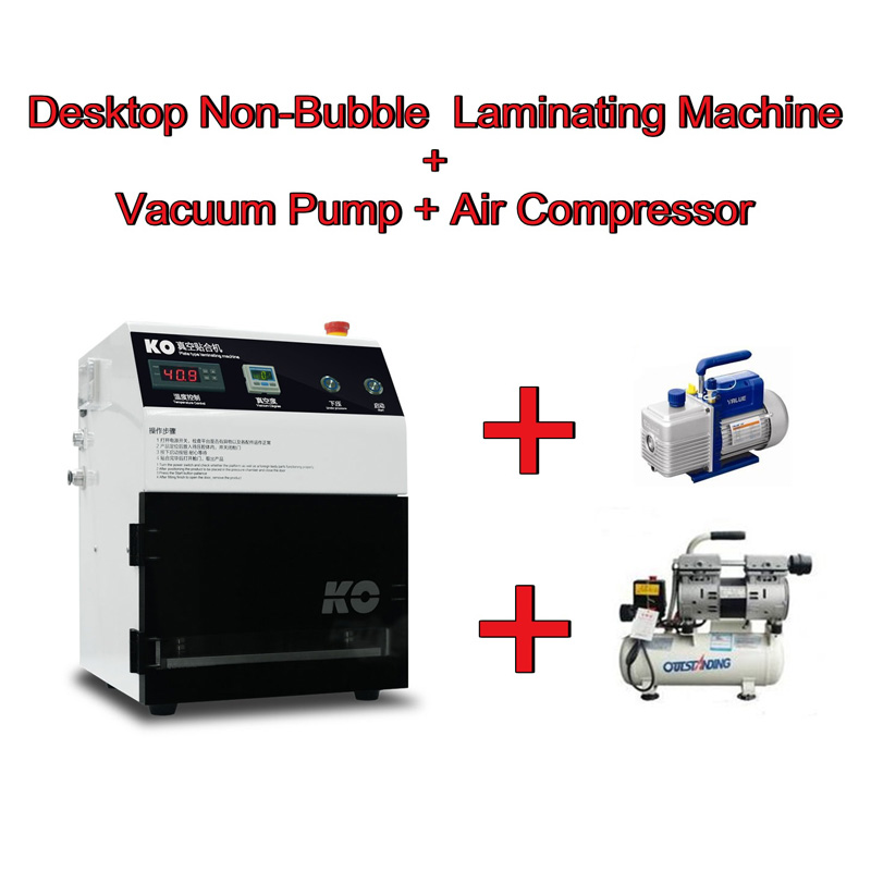 OCA laminating machine LY 848 with Vaccum pump and Air compressor 02023 clutch bell double gears 19t 24t for rc hsp 1 10th 4wd on road off road car truck silver