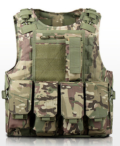 Image 5 - Children Outdoor CS Shooting Protection Gear Vest Kid Military Combat Training Camping Hunting Multi function Tactical Waistcoat