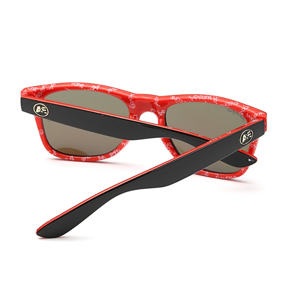 AEVOGUE Polarisierte Sonnenbrille Männer Dicke Acetat Rahmen ...