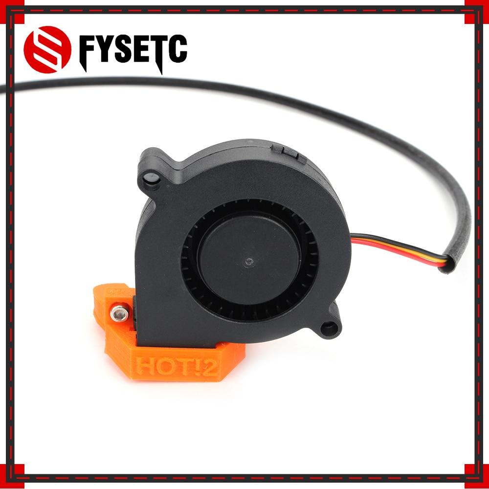 Детали для 3D-принтера Prusa i3 MK3, постоянный ток, 5 В, 5015, 50 мм, радиальный вентилятор охлаждения, гидравлический рукав, подшипник, вентилятор Пер...