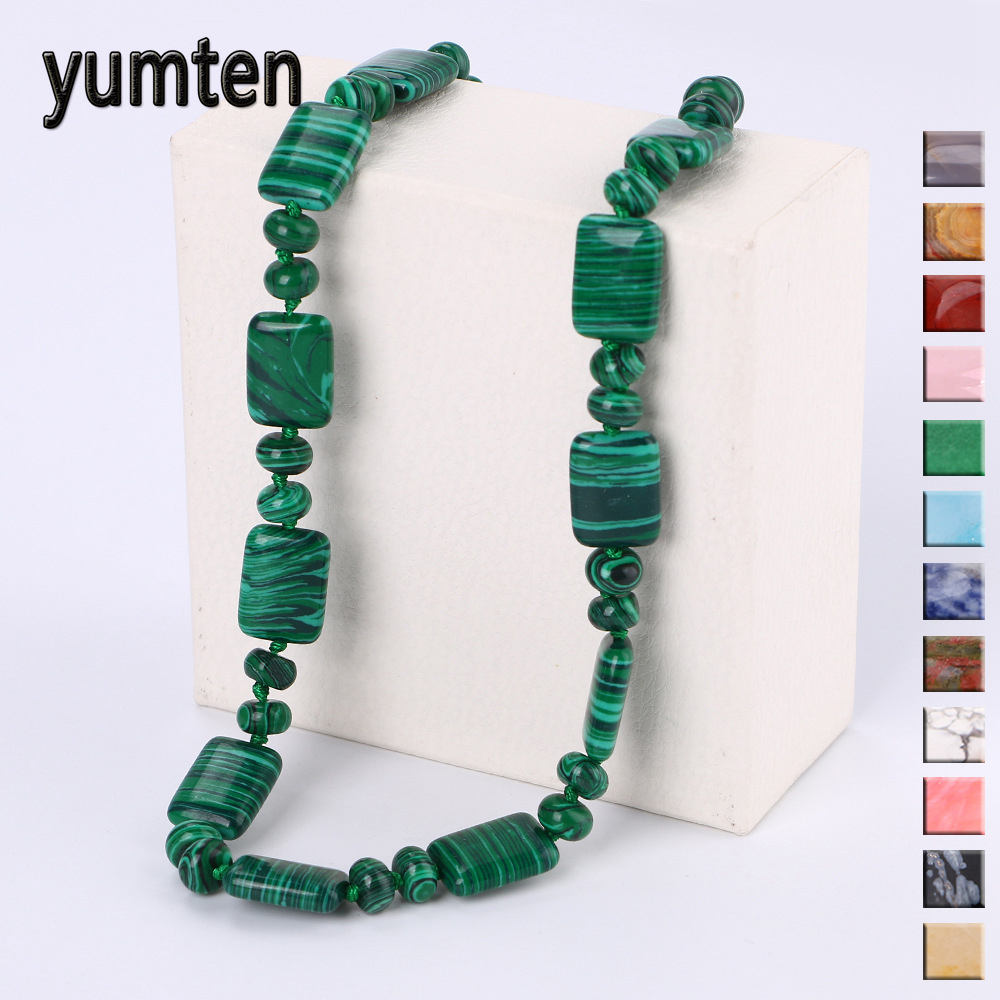 Yumten Men Short Necklace Vintage Women Fashion Smycken Statement - Fina smycken