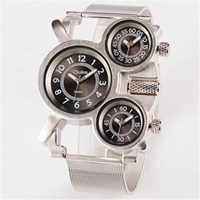 Montres pour hommes Oulm grandes montres armée militaire Montre Homme de Marque Relojes Lujo Marcas hommes petit ami cadeaux Montre Vintage