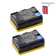 2Pcs/lot New LP-E6 1865mAh 7.2V Digital Camera Battery For Canon EOS 5D Mark II 2 III 3 6D 7D 60D 60Da 70D 80D DSLR EOS 5DS