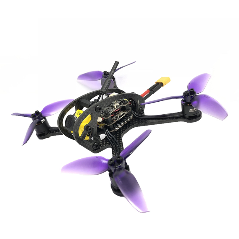 Leader3 / 3SE 130mm FPV RACING DRONE 5.8GHz Mini Drone with 4500KV Brushless Motor+FSD428 F411 28A Flight Tower цена