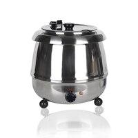 ITOP нержавеющая сталь 10L суп горшки Multi плита Электрический суп чайник куриная кость тушить Регулируемый температура