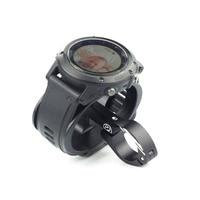 Fouriers Bike Watch Mount 22.2mm TT Bicycle For Wrist Watch Fenix Foretrex Forerunner 10 405CX 410 50 610 920xt 910xt