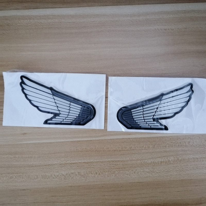 3D Wings Logo Sticker Tank Emblem badge Motorcycle Car Decal for Honda CBR RR VFR VF CB 400 600 1000