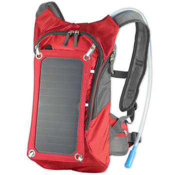 Solar backpack solar power board outdoor sports travel to mobile phone digital electrical power supply water bag 6