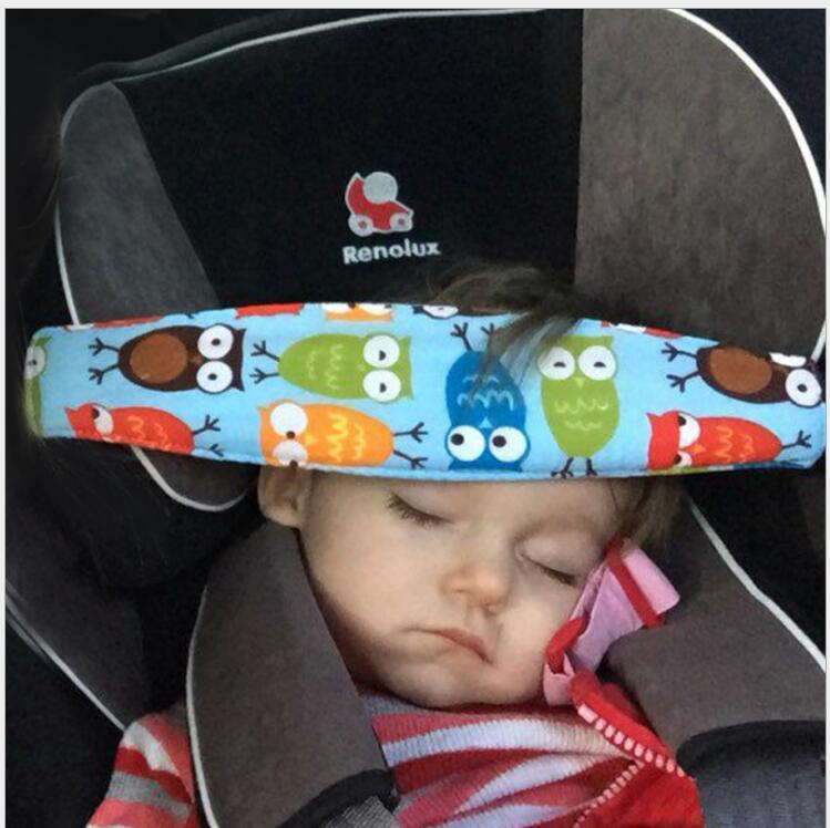car seat support for baby sleeping on seat cushion safety on Neck and head protection cotton seat belt accessory in car