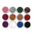 12 Color Nail Art Gradual Polvo Shimmering Lentejuelas JAN20