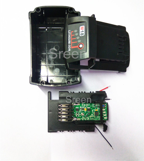18v Li Ion Power Tools Battery Case With Pcb Circuit Board