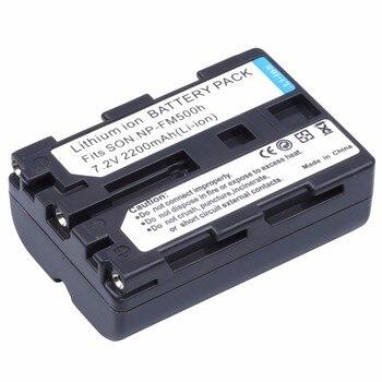 Probty NP-FM500h NP FM500h batería para Sony Alpha SLT A57 A58 A65...