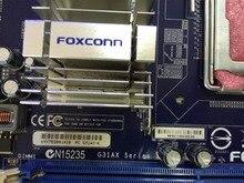 Бесплатная доставка Использовано оригинальное для Foxconn G31 Материнская Плата G31AX-K Промышленных Наблюдения 5 LGA 775 DDR2 PCI