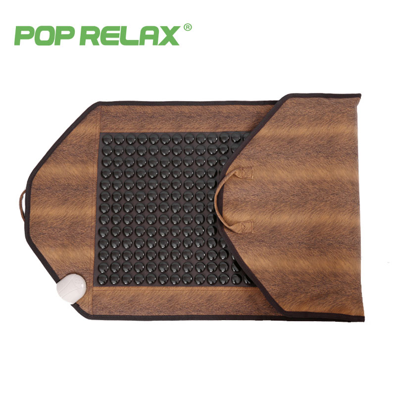 POPRELAX Korea health care mattress germanium tourmaline heating pad stone mat body pain relief physiotherapy thermal mattress
