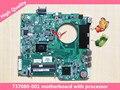 Da0u81mb6c0 rev: c 737980-501 737980-001 737980-601 laptop motherboard apto para hp pavilion 15 perfeito funcionamento
