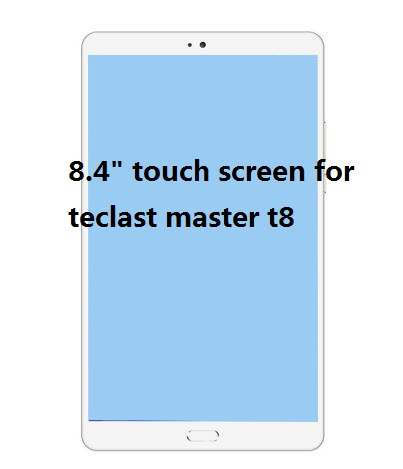 New LCD screen with touch screen For Teclast Master T8 T 8 tablet touch screen Panel Digitizer Sensor Replacement LCD Display srjtek 8 inch lcd for huawei tablet t1 821l lcd display digitizer sensor replacement lcd screen 100% tested