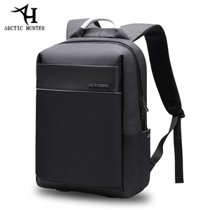 Image 1 - ARCTIC HUNTER 15.6inch USB Waterproof Laptop Mens bag Sport Travel Business Notebook Male Backpack Schoolbag Pack Mochila Bolsa