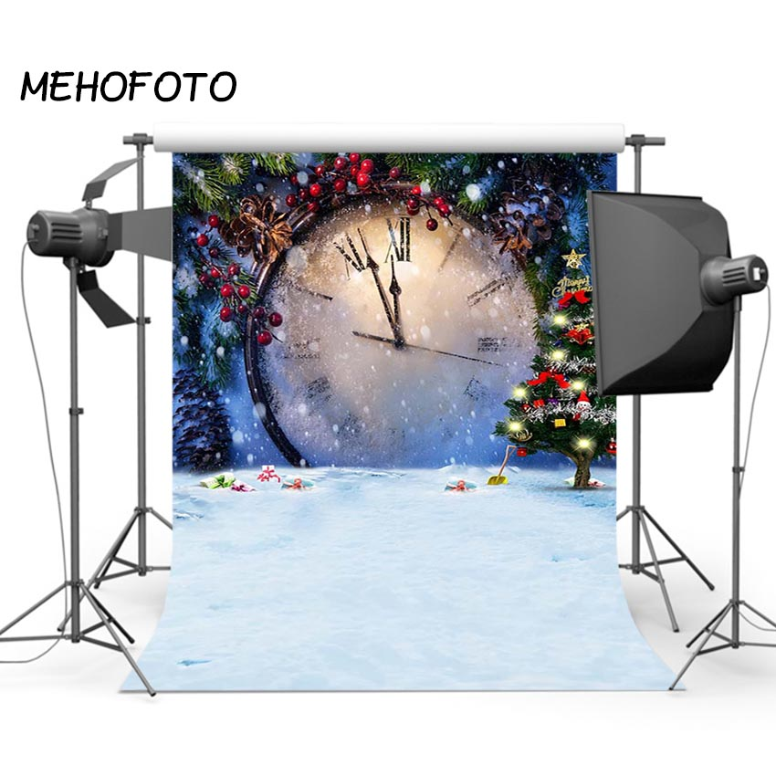 Christmas Photography Backdrops Snow Scene Snowflake Happy New Year Photo Studio Photographic Background Props 3x5ft vinyl kids photography background for studio photo props indoor photographic backdrops cloth waterproof 1m x 1 5m