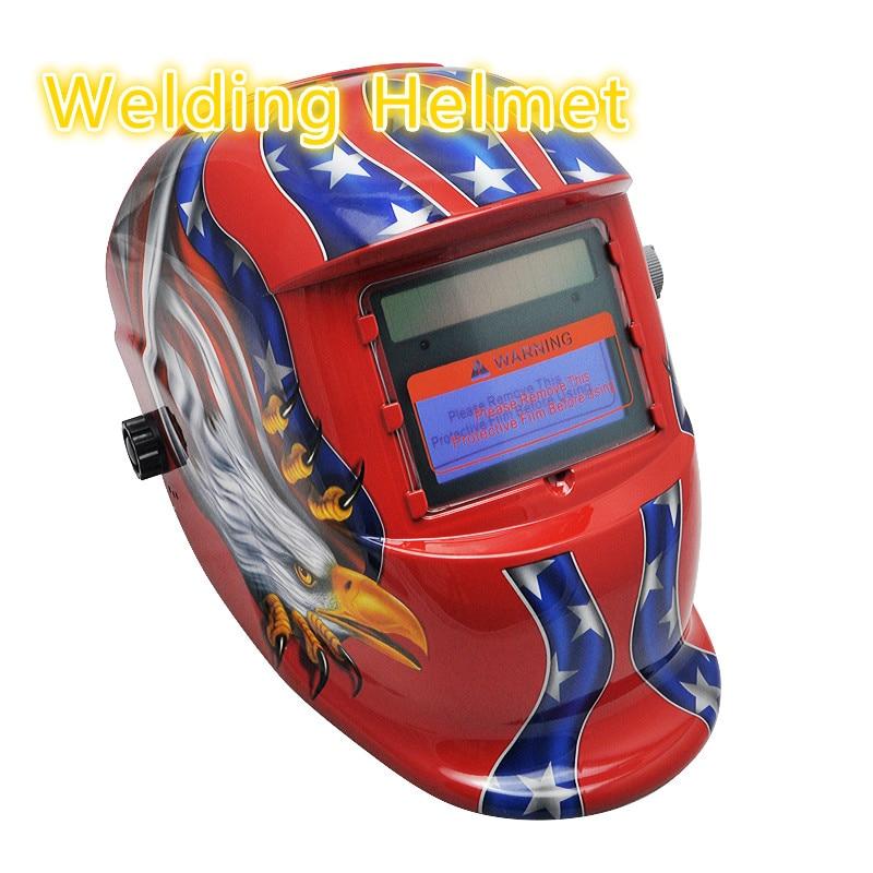 New Arrival! Pro Solar Auto Darkening Welding Helmet Arc Tig Mig Mask Grinding Welder Mask solar auto darkening welding helmet mask arc tig mig grinding welder mask