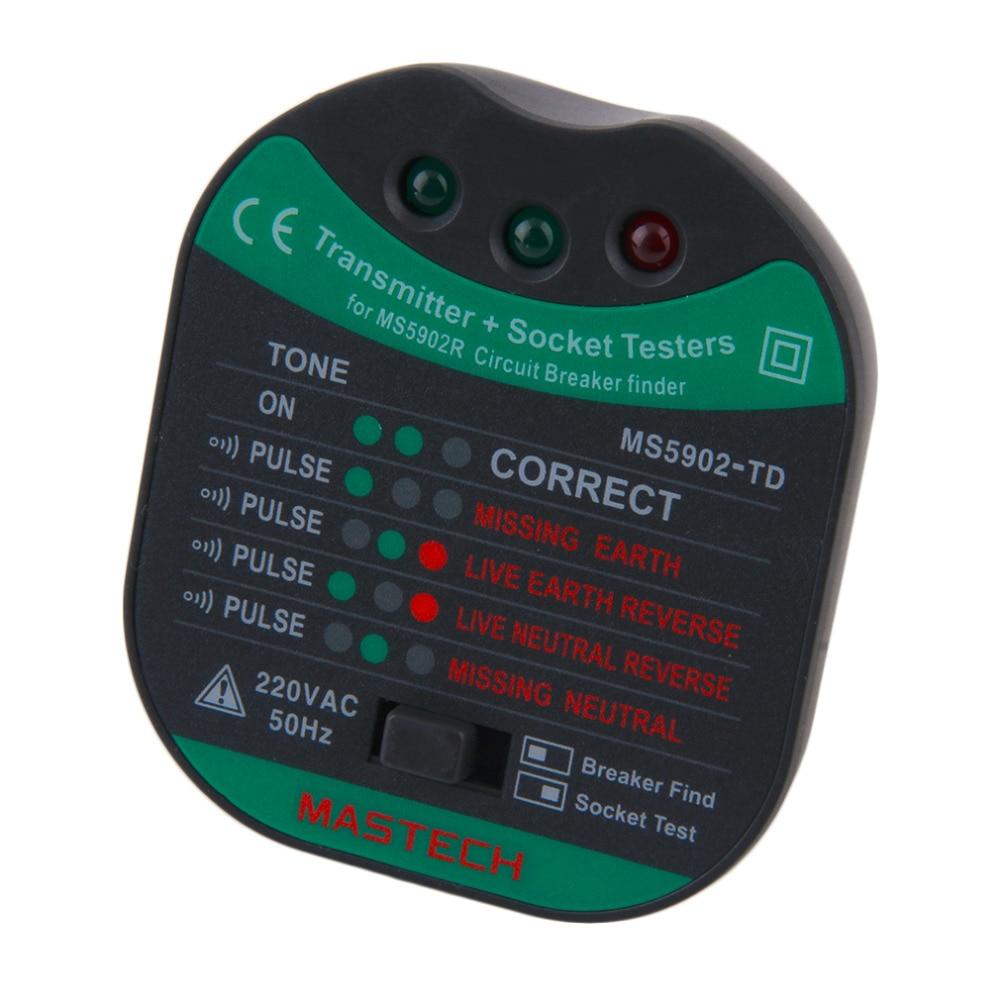 1Pc-MASTECH-MS5902-Circuit-Breaker-LED-Tester-Finder-CATII-600V-Zeroline-230V-EU (4)