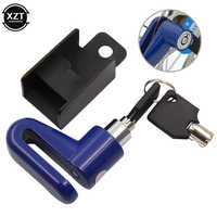 Motorcycle Lock Security Anti Theft Alarm Bicycle Motorbike Motorcycle Wheel Disc Brake Lock Theft Protection For Scooter