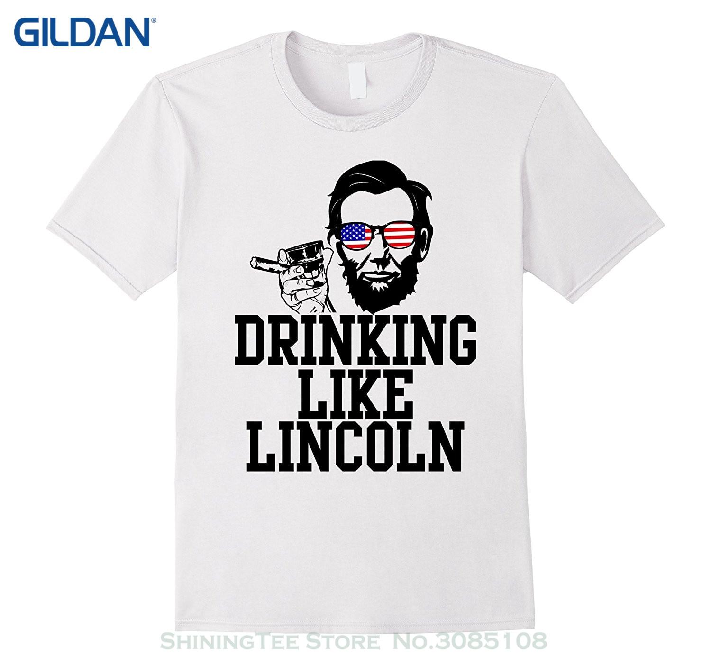 Gildan Stranger Things Design T Shirt 2017 New Drinking Like Abe