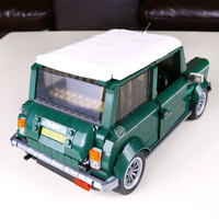 1077 Pcs Building Blocks Yile 002 Mini Cooper Model Building Car For Kids Bricks For Gift