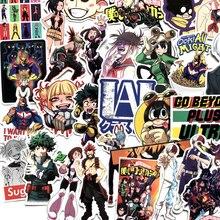 70ชิ้น/แพ็คMy Hero Academia Animeสติกเกอร์สเก็ตบอร์ดรถเข็นกันน้ำแล็ปท็อปสเก็ตบอร์ดสติกเกอร์ของขวัญของเล่นสำหรับเด็กF5