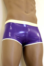 Hot Sale 0.4MM Latex Rubber Underpants Sexy Rubber Latex Briefs Underwear For Mens