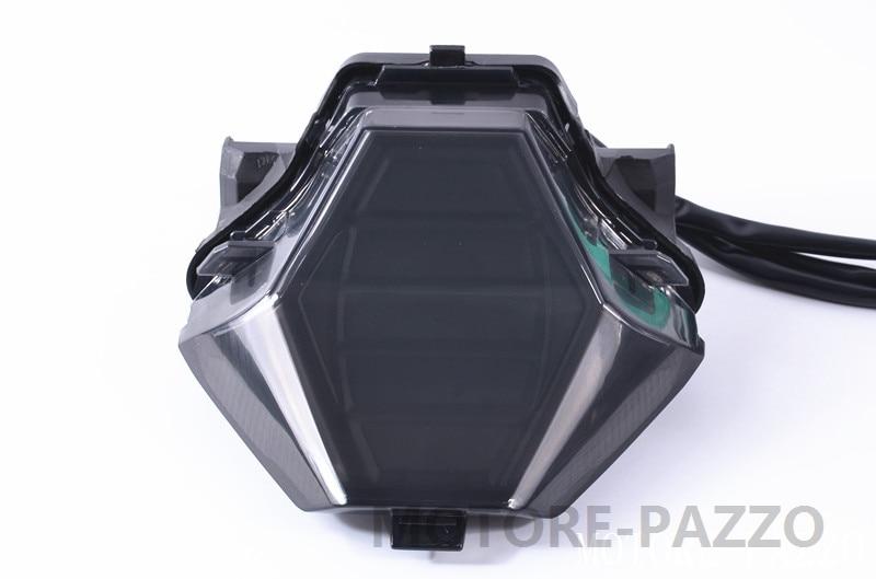 Motorcycle Rear Tail Light Brake Turn Signals Integrated <font><b>Led</b></font> Light For <font><b>YAMAHA</b></font> YZF R25 <font><b>R3</b></font> MT-07 LC155