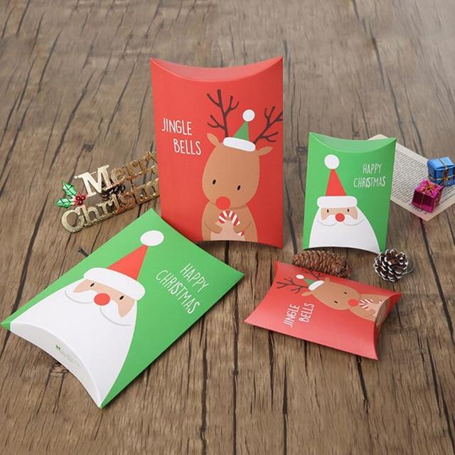 Amato Due formati Di Buon Natale scatola di carta Del Partito Bambini  CL25