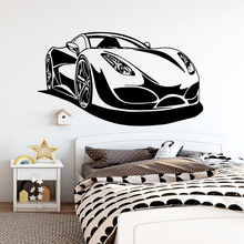 Modern car Wall Mural Removable Decal Home Decor Children House