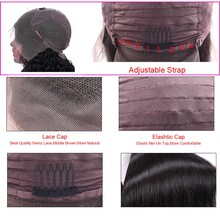 13×4 Lace Front Human Hair Wigs Brazilian Bob Wig Remy Straight Bob Lace Front Wigs For Black Women Short Human Hair Wigs