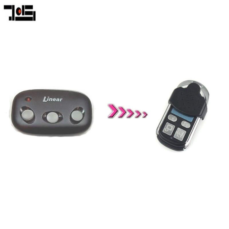 Linear MT-1B 1 bouton-Mega-Code Portail Porte De Garage Télécommande 318 MHz ACP00877