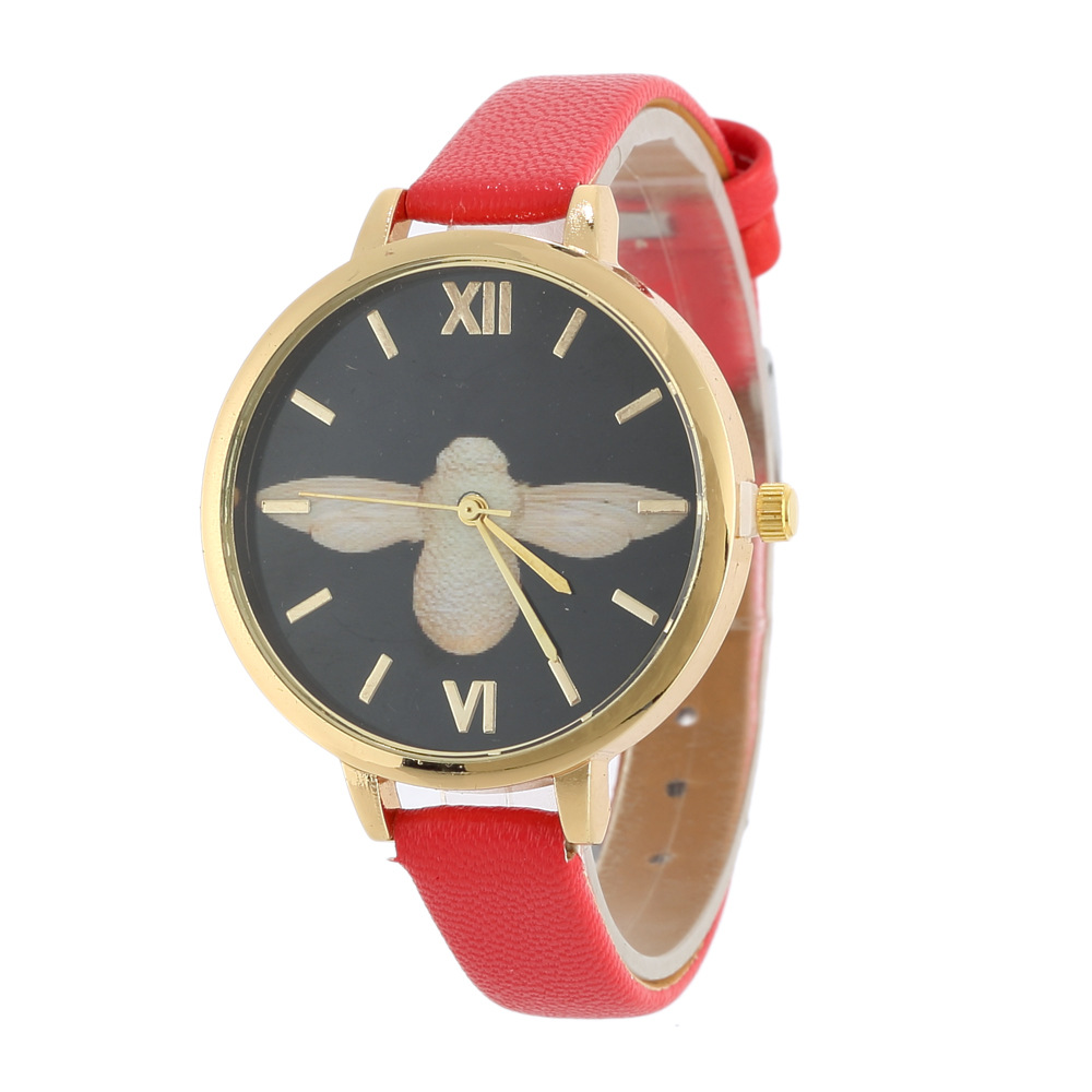 2018 Ladies Woman Quartz Leather Casual Buckle