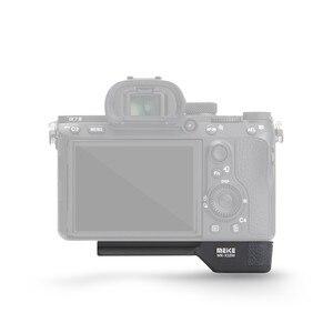 Image 5 - Meike MK X1EM Metal Bracket Hand Grip for Sony GP X1EM A9 A7MIII a7RIII a7RII a7II a7SII Camera