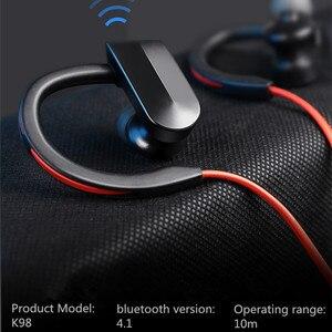 Image 5 - XEDAIN مقاوم للماء سماعة رأس لاسلكية ستيريو بلوتوث سماعات في الأذن بلوتوث سماعة مشغل MP3 مع ميكروفون آيفون