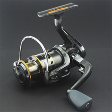 New Product Spinning Fish Reel 5BB Sea Boat Full Metal Head Brass Carp SaltWater Fly Wheel Spoon Trolling Coils Line Tools