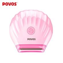POVOS Lady Shaving Bikini Heads Waterproof MiNi Electric Shavers Summer Pink Shaving Epilator USB Plus PS1016