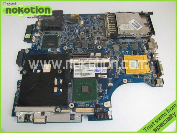 все цены на  409959-001 LA-2821P LAPTOP MOTHERBOARD for HP NX9420 NW9440 INTEL With graphics slot DDR2 Mainboard  онлайн