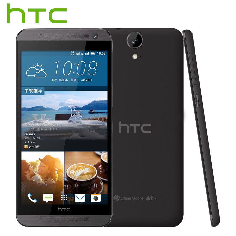 Brand New Original HTC One E9 E9w 4G LTE Mobile Phone MTK HelioX10 Octa Core 2.0GHz 2GB RAM 16GB ROM 5.5 inch NFC 13MP CellPhone