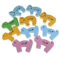 OCEA 10pcs Set Door Stop Security Door Card Baby Child Clip Cartoon Door Card