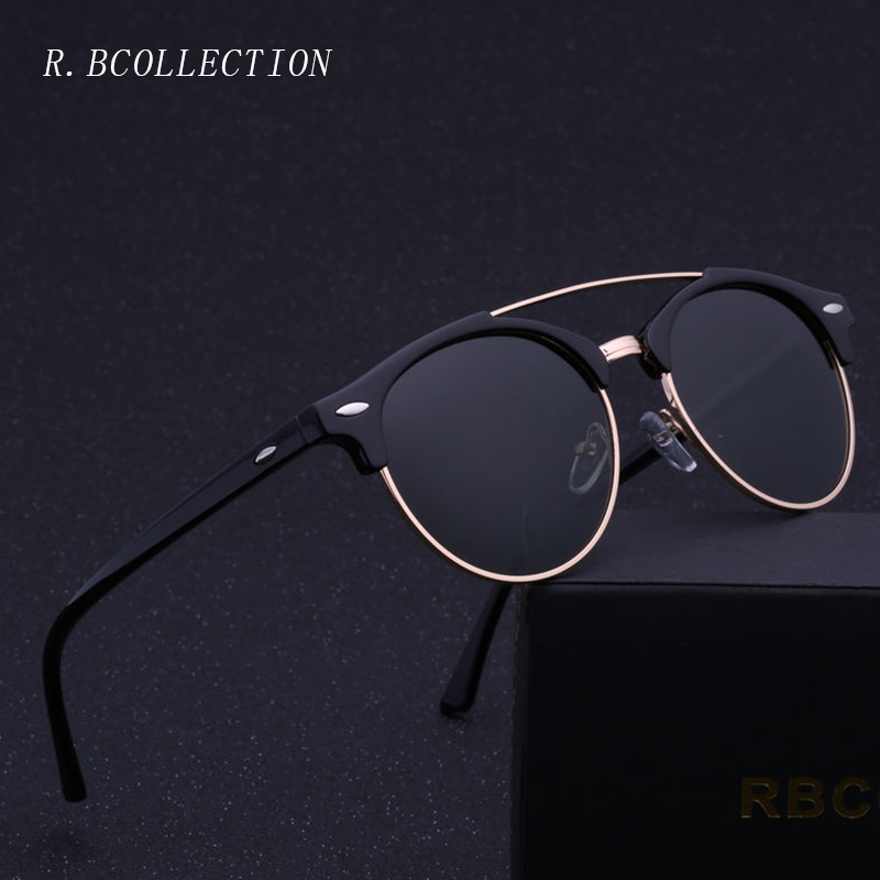 Fashion Polarized Sunglasses Men Women Driving Semi-Rimless Metal Frame Sun Glasses Male Goggle Gafas De Sol UV400