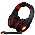 Each g4000 pro gaming headset auriculares con micrófono led light surround estéreo diadema fone de ouvido para pc gamer