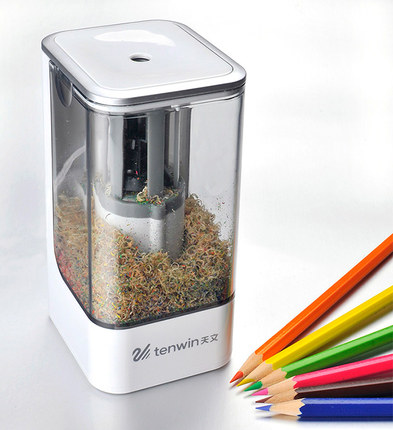 New High Quality Automatic and Electric Pencil Sharpener Desktop School Stationery Office Kids safety energy saving Pencil Sharp 2016 new affordable electric pencil sharpener automatic desktop school stationery office kids