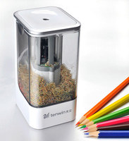 New High Quality Automatic and Electric Pencil Sharpener Desktop School Stationery Office Kids safety energy saving Pencil Sharp